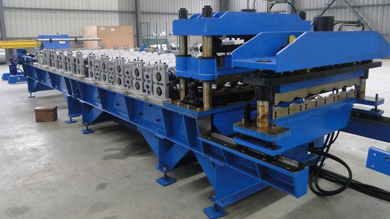 195 roofing sheet profiling machine