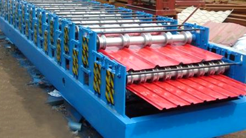600-900 double layer roof panel forming machine