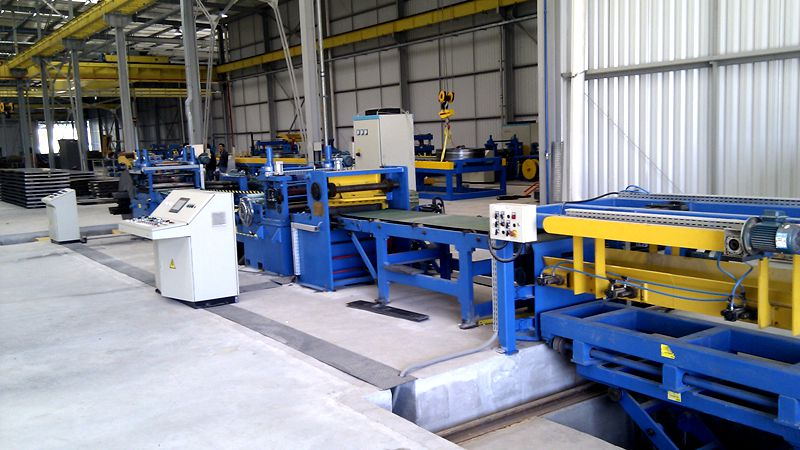 6x1600 Leveling& Cutting to Length Line