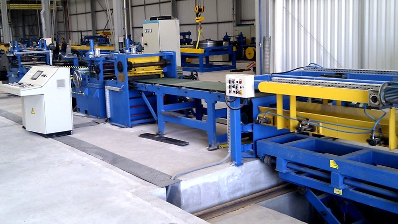 12x2000 Cut to Length Line