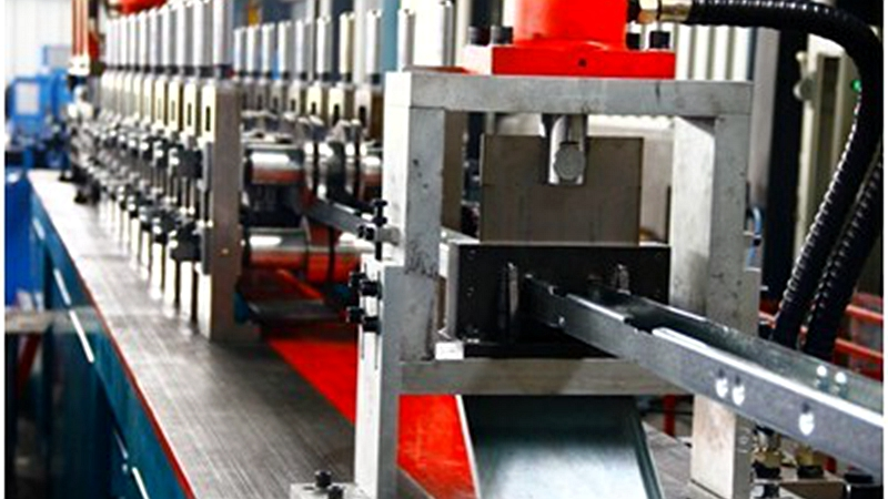 3 profiles Track&stud roll forming machine