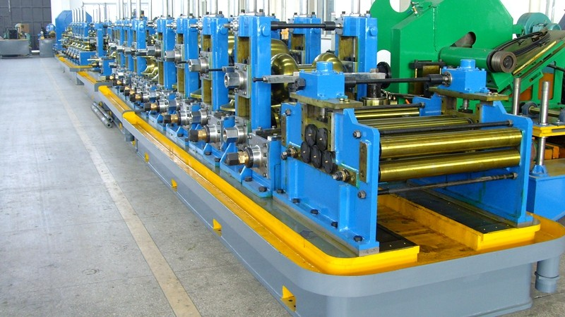 Maxtube90 straight seam carbon pipe welding line