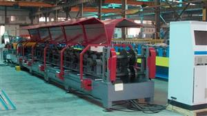 350-Semi-automatical C/Z exchangeable purline roll forming machine