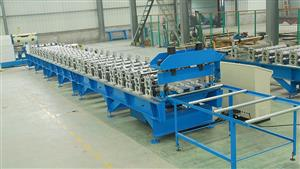 160 decking roll forming machine
