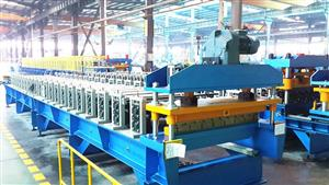 137 galvanized roofing sheet roll forming machine