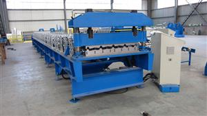 100 standing seam metal roof machine