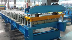 167 metal roofing making machine