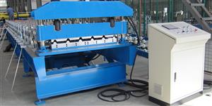 23-535 roof panel forming machine