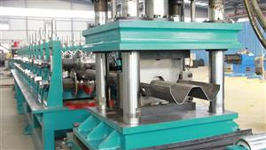 2 Waves Guardrail Roll Forming Machine