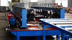 1.0-2.5 mm thickness cable tray roll forming machine