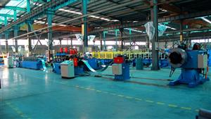 Door/window roll forming machine