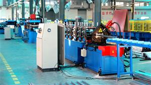 140*56mm door frame roll forming machine