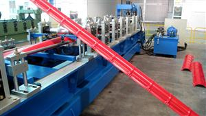 284 Ridge cover roll forming machine