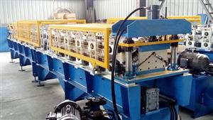 130 Ridge Cap Forming Machine