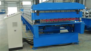 76-200 double layer roll forming machine