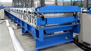 820-1025 roof panel double level forming line