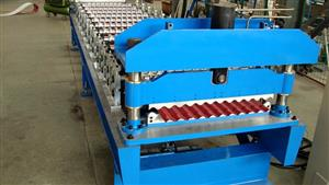 74-895mm corrugated sheet making machine