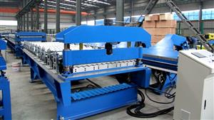 74-1037 Corrugated roll forming machine