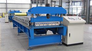 76-888 Corrugated panel roll forming machine