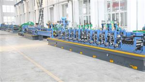 Maxtube255 carbon steel tube welding line
