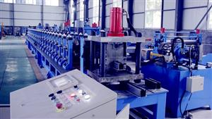 Filter frame roll forming machine