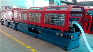 Double rows roll formng line
