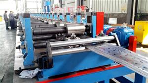 Rack shelf forming machine