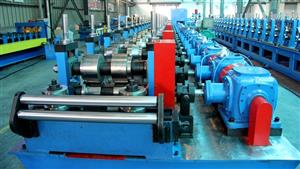 Fire hose cabinet roll forming machine